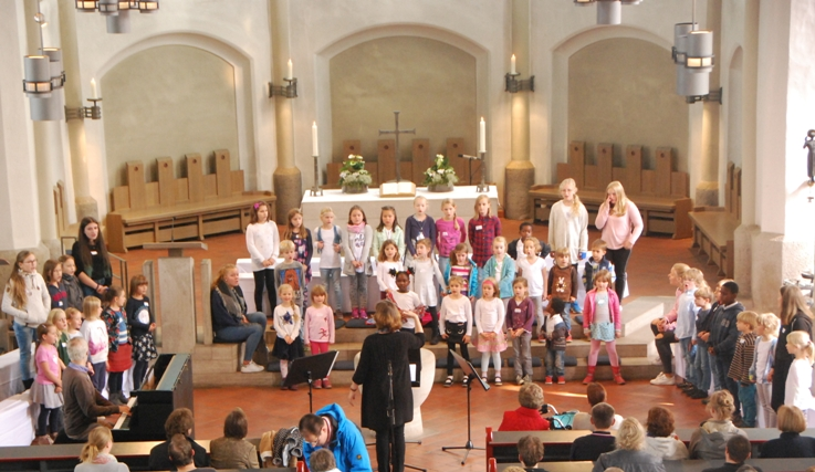 Chorister for a day