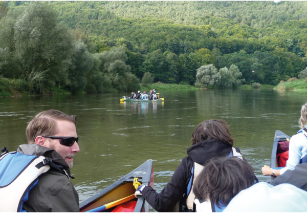 Netzwerkknoten-Aktive Freizeit: Kanutouren