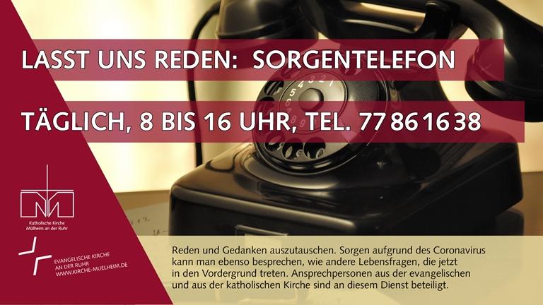 Mülheimer Notfallseelsorge   schaltet Sorgentelefon
